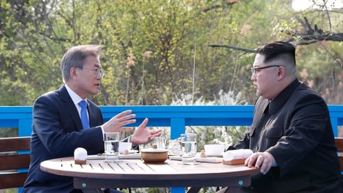 Historic summit was held between the leaders of South and North Korea