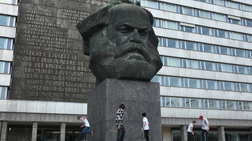 The Karl Marx Monument by Soviet sculptor Lev Kerbel in Chemnitz, Germany. Photo: iStock