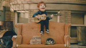It's official! Ed Sheeran is a . . . puppet