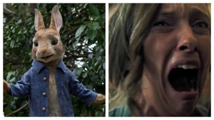 The scary trailer for Hereditary was shown before a screening for Peter Rabbit