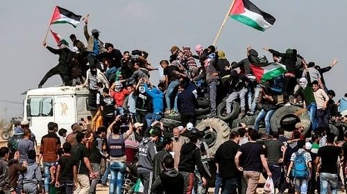 Israeli troops kill three protesters, injure 600 during 'riots' along Gaza border