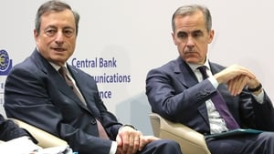 The new technical working group will be chaired by ECB President Mario Draghi and Bank of England Governor Mark Carney