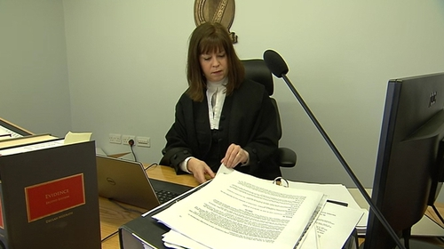 Ms Justice Úna Ní Raifeartaigh said the courts had no information about sentencing in past cases