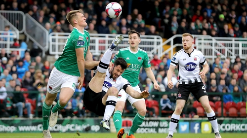 Cork City and Dundalk is sure to be watched by another packed house at Turner's Cross