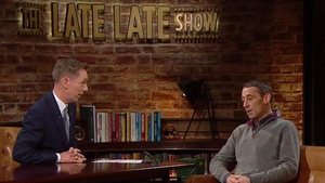Davy Russell was a guest on The Late Late Show