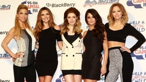 Girls Aloud at the 2012 Jingle Bell Ball in London