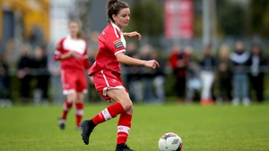 Leanne Kiernan was in scoring form for Shelbourne