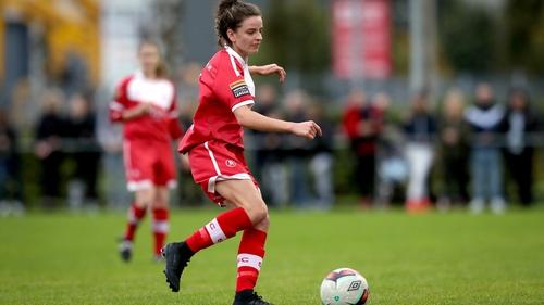 Leanne Kiernan was in scoring form for Shelbourne