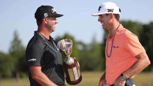 Kisner and Brown lead PGA Tour team event