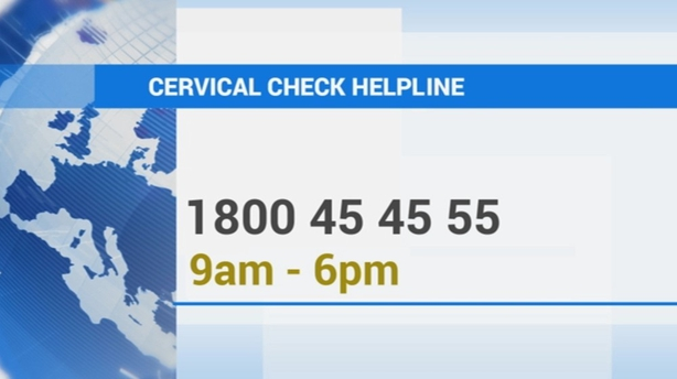 Cervical Check helpline