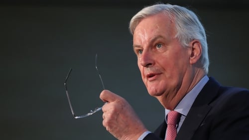 "EU chief Brexit negotiator Michel Barnier called for a ""clear and operational solution for Ireland"" to be included in the Brexit deal"