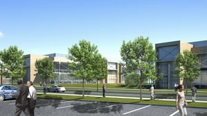 An artist's impression of the WuXi Biologics Campus in Dundalk