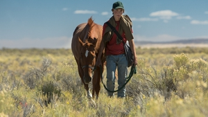 Charley and equine pal Pete wander in the desert in search of a home . .
