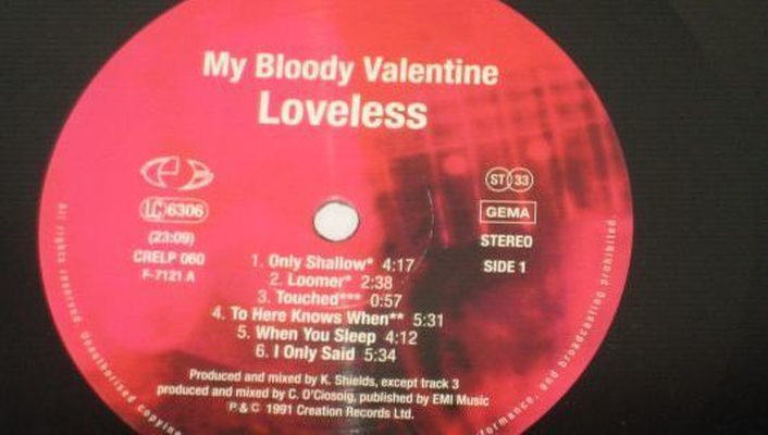 """Loveless"", the album by My Bloody Valentine"