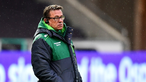 Kieran Keane led Connacht to just seven league wins