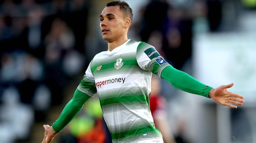 Graham Burke has been red hot for Shamrock Rovers this season
