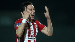 Derry City's Aaron McEneff was on the scoresheet
