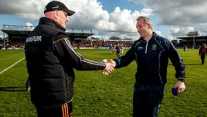 Brian Cody's side got the better of Michael Ryan's Tipperary last month