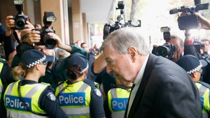 The 76-year-old Australian cardinal has pleaded not guilty to all the charges he faces