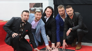 NSYNC reunited to receive a Hollywood Walk of Fame star