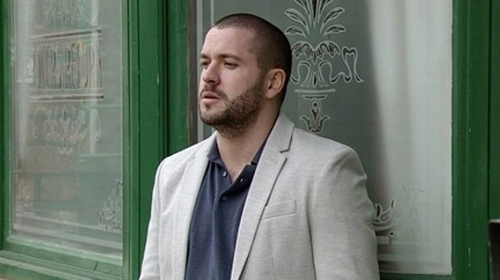 """Shayne Ward as Aidan - """"Everyone will be able to see the times he could've spoken to somebody, but he just felt like he couldn't"""""""