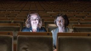 Composers Maria Minguella and Anne-Marie O'Farrell