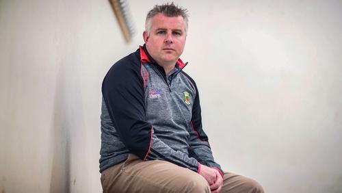 Mayo manager Stephen Rochford