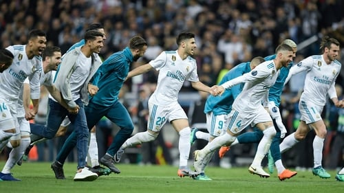 Real Madrid are back in the final