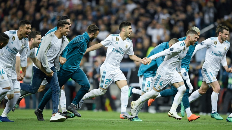 Real madrid hang on to book final spot real madrid are back in the final stopboris Image collections