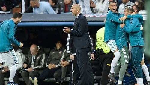 Zinedine Zidane: 'It's not normal to get to three finals in a row'
