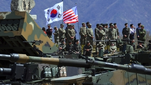 The United States currently has around 28,500 troops stationed in South Korea