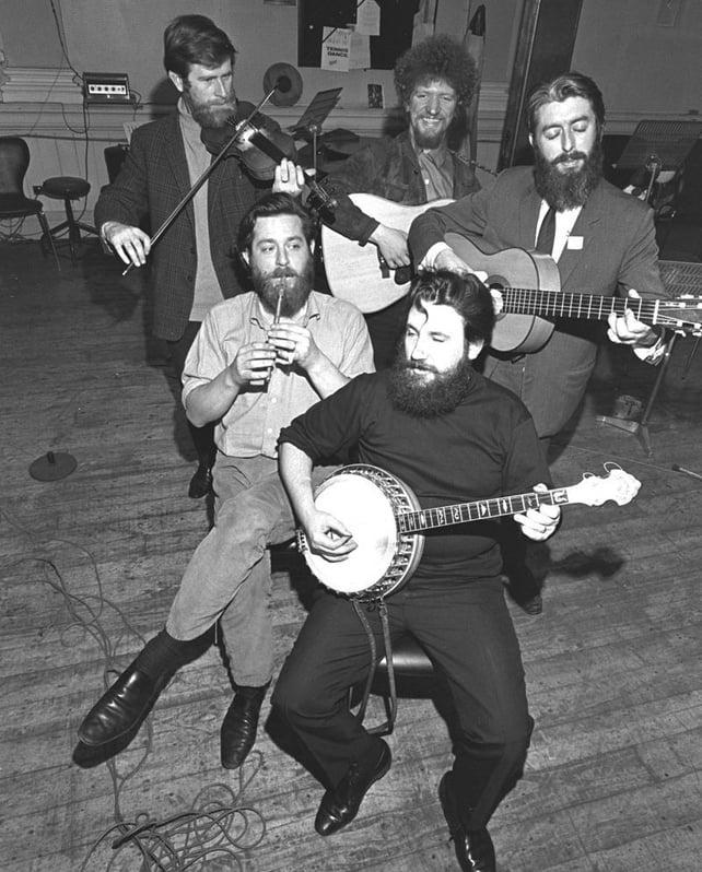 The Dubliners (1967) John Sheahan, Luke Kelly, Ciarán Bourke, Barney McKenna, Ronnie Drew