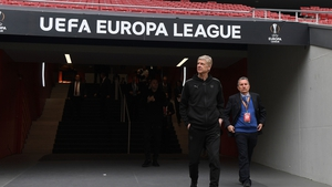 Arsenal take on Atletico Madrid for a place in the Europa League final