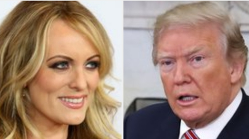Trump Goes After 'Horseface' Stormy Daniels on Twitter
