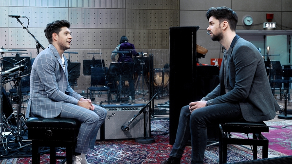 Niall Horan chats to Eoghan McDermott as part of his RTÉ Concert Orchestra Special