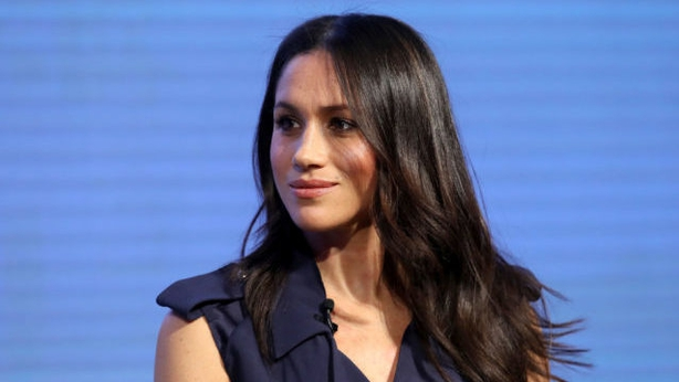 Meghan Markle during the first Royal Foundation Forum in central London(Chris Jackson PA)