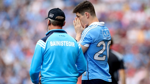 Diarmuid Connolly's last involvement for Dublin was a substitute in the comfortable league victory over Mayo last February