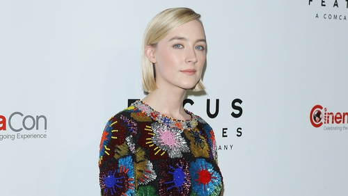 Saoirse Ronan - A Best Performance nominee for Lady Bird