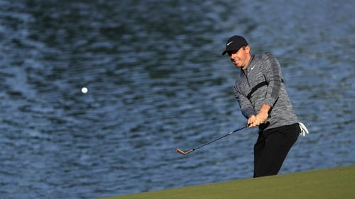 Rory McIlroy sits three shots off the lead after the opening round