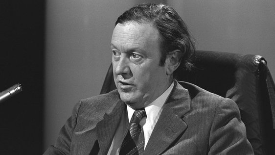Minister for Posts and Telegraphs Conor Cruise O'Brien (1973)