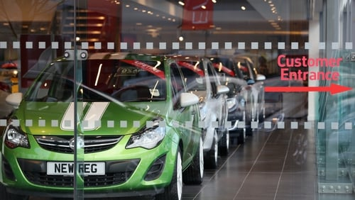 UK car sales slowed down by 6.7% last month compared with the same time last year