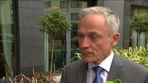 Richard Bruton was appointed to the role this morning