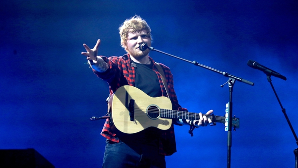 Ed Sheeran is Dublin-bound