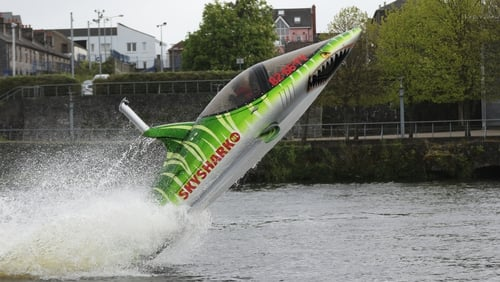 Seabreacher Shark will be in action on the Shannon tomorrow