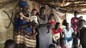 In pictures: People flee civil war in South Sudan