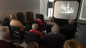 A special screening of the 1974 classic 'That's Entertainment' took place at the Mercer's Institute for Successful Aging this afternoon