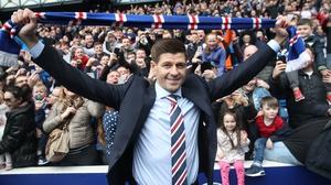 Steven Gerrard is the new boss at Rangers