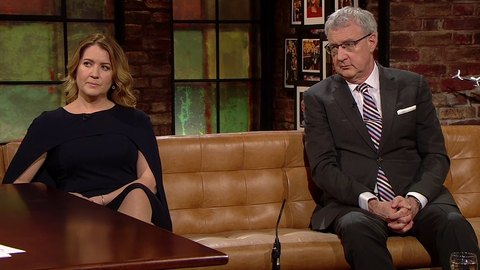 Professor John Crown and Susan Mitchell | The Late Late Show