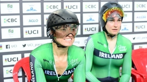Katie-George Dunlevy (R) and Eve McCrystal