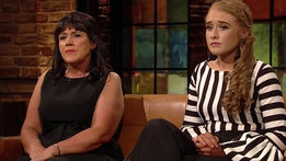 Margaret and Shannon Keady | The Late Late Show